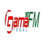 Logo da emissora Gama 90 FM