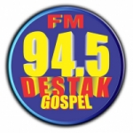 Logo da emissora Rádio Destak 94.5 FM