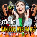 Logo da emissora Canudos Web R�dio FM 91.7