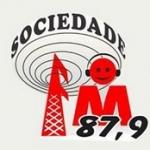 Logo da emissora Rádio Sociedade 87,9 FM