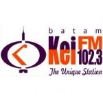 Logo da emissora KEI 102.3 FM