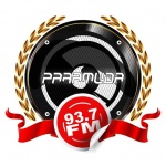 Logo da emissora Paramuda 93.7 FM