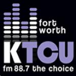 Logo da emissora KTCU 88.7 FM