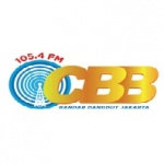 Logo da emissora Radio CBB 105.4 FM