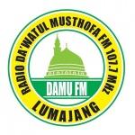Logo da emissora Dakwatul Musthofa 107.7 FM
