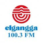 Logo da emissora Elgangga 100.3 FM