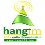 Logo da emissora Radio Hang 106 FM