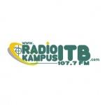 Logo da emissora Radio Kampus ITB 107.7 FM
