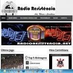 Logo da emissora Rádio Resistência