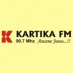 Logo da emissora Radio Kartika 90.7 FM