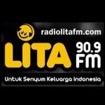 Logo da emissora Radio Lita 90.9 FM