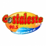 Logo da emissora Rádio Costa Leste 90.5 FM