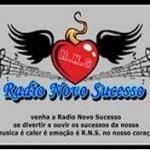 Logo da emissora Rádio Novo Sucesso