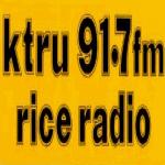 Logo da emissora KTRU 91.7 FM