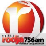 Logo da emissora Radio Rodja 756 AM