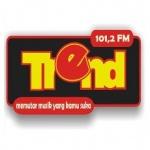Logo da emissora Radio Trend 101.2 FM