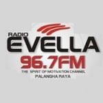 Logo da emissora Radio Evella 96.7 FM