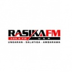 Logo da emissora Rasika 105.6 FM