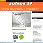 Logo da emissora R�dio Antena 10
