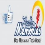Logo da emissora R�dio MEMORIES
