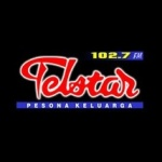 Logo da emissora Telstar 102.7 FM