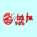 Logo da emissora TOP Padangpanjang 98.6 FM