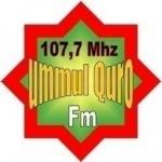Logo da emissora UmmulQuro Cikampek 107.7 fm