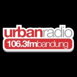 Logo da emissora Urban Radio 106.3 FM