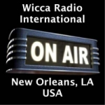 Logo da emissora Radio Wicca International