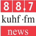 Logo da emissora KUHF 88.7 FM