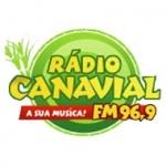 Logo da emissora R�dio Canavial 96.9 FM