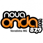 Logo da emissora R�dio Nova Onda 87.9 FM