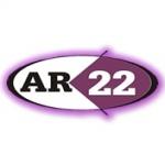 Logo da emissora Web Rádio AR 22 Pop Rock