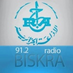 Logo da emissora Radio Biskra 91.2 FM
