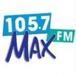 Logo da emissora Max 105.7 FM