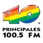 Logo da emissora XEBZ 100.5 FM 40 Principales