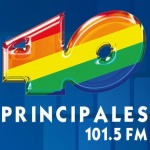 Logo da emissora XHEPAR 101.5 FM 40 Principales