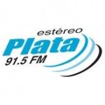 Logo da emissora Est�reo Plata 91.5 FM