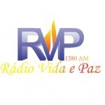Logo da emissora Rádio Vida e Paz 1380 AM