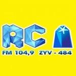 Logo da emissora R�dio Comunit�ria Cristal 104.9 FM