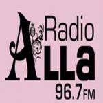 Logo da emissora Alla Radio 96.7 FM