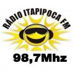 Logo da emissora R�dio Itapipoca 98.7 FM