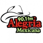 Logo da emissora Radio Alegria Mexicana 90.1 FM