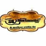 Logo da emissora Rádio A Sertaneja
