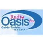 Logo da emissora Oasis 96.5 FM