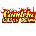 Logo da emissora Radio Candela 95.1 FM