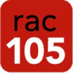 Logo da emissora RAC 105 FM
