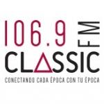 Logo da emissora Radio Classic 106.9 FM