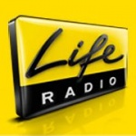 Logo da emissora Life Radio Hitmix 100.5 FM
