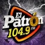 Logo da emissora Radio El Patron 104.9 FM